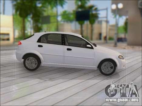 Chevrolet Lacetti para visión interna GTA San Andreas