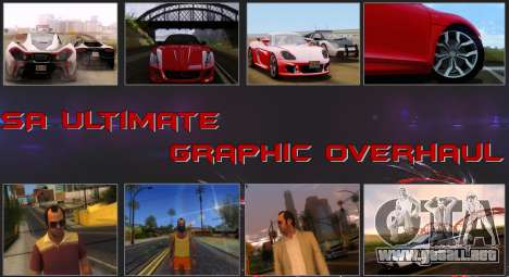 SA Ultimate Graphic Overhaul 1.0 Fix para GTA San Andreas