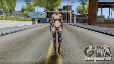 Elementalist from Soul of the Ultimate Nation para GTA San Andreas segunda pantalla
