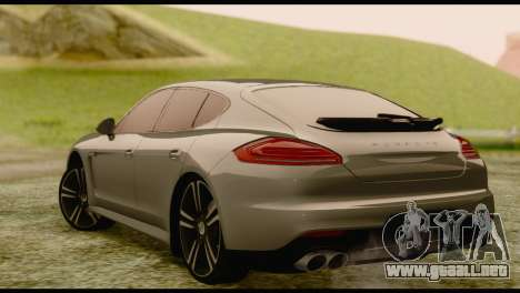 Porsche Panamera GTS para GTA San Andreas left
