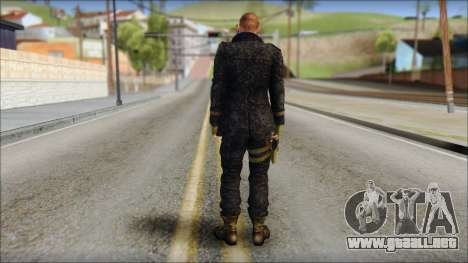Jake Muller from Resident Evil 6 v1 para GTA San Andreas segunda pantalla