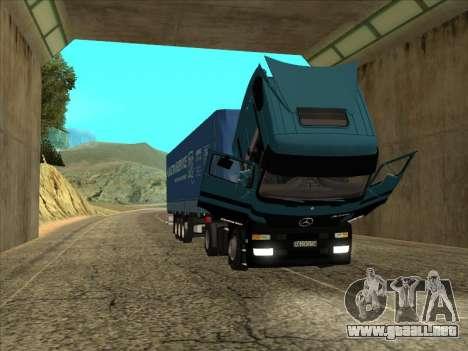 Mercedes-Benz Actros 1840 para la visión correcta GTA San Andreas