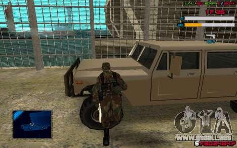C-HUD by SampHack v.7 para GTA San Andreas segunda pantalla
