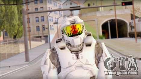 Masterchief White para GTA San Andreas tercera pantalla