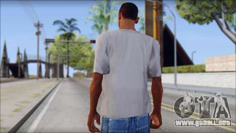 Mickey Mouse T-Shirt para GTA San Andreas segunda pantalla