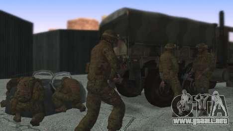 El comandante de la CIT, estados UNIDOS para GTA San Andreas tercera pantalla