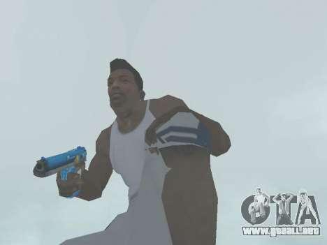 D.Eagle Rainbow Dash para GTA San Andreas sucesivamente de pantalla