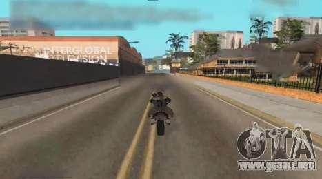 Unfreeze para GTA San Andreas segunda pantalla