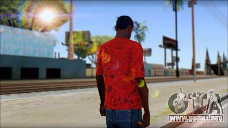 DVS T-Shirt para GTA San Andreas segunda pantalla
