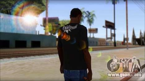 Volcom T-Shirt para GTA San Andreas segunda pantalla