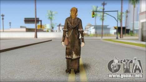 Hermione Grange para GTA San Andreas segunda pantalla