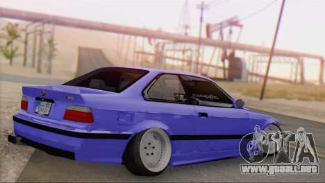 BMW M3 E36 Coupe Slammed para GTA San Andreas left
