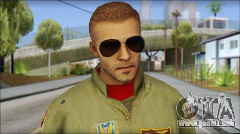 USAF Pilot On Base para GTA San Andreas tercera pantalla