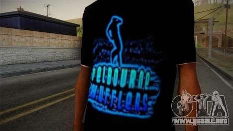 Melbourne Shuffle T-Shirt para GTA San Andreas tercera pantalla