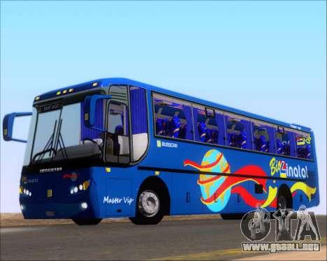 Busscar El Buss 340 Bio Linatal para vista lateral GTA San Andreas