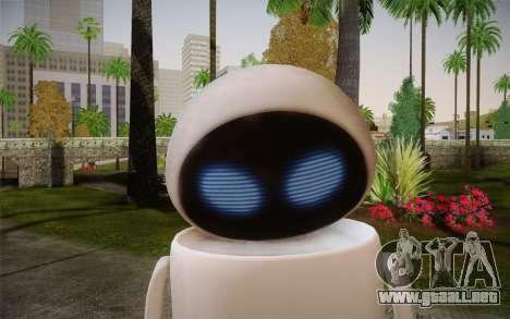 Eve Skin para GTA San Andreas tercera pantalla