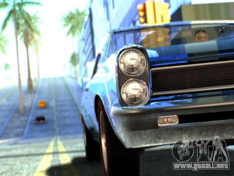 Lime ENB v1.1 para GTA San Andreas séptima pantalla