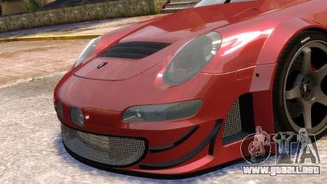 Porsche 911 GT3RSR para GTA 4 Vista posterior izquierda