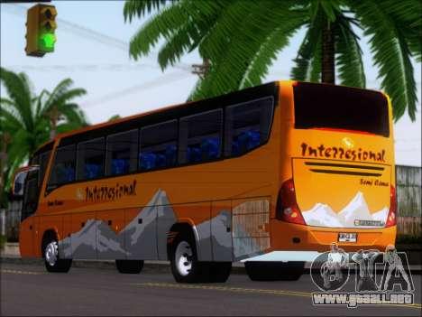 Marcopolo Viaggio 1050 G7 Buses Interregional para la visión correcta GTA San Andreas