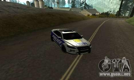 Ford Taurus HSO Police para GTA San Andreas