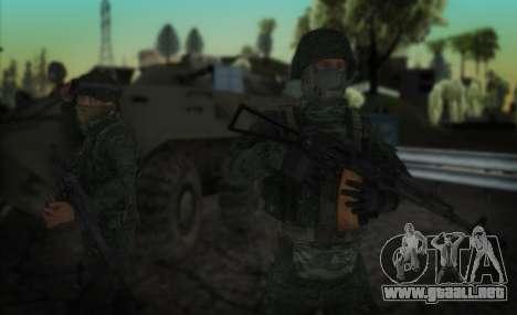 El ataque de las fuerzas especiales del interior para GTA San Andreas segunda pantalla