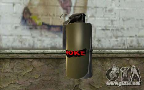 Smoke Grenade para GTA San Andreas