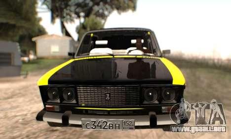 VAZ 2106 para las ruedas de GTA San Andreas