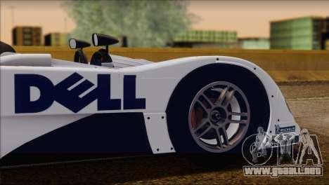 BMW 14 LMR 1999 para la vista superior GTA San Andreas