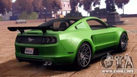 Ford Mustang GT 2014 Custom Kit para GTA 4 left