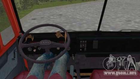 KamAZ 5511 para GTA Vice City vista lateral izquierdo