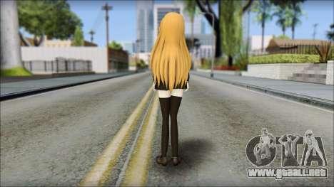Aisaka Taiga v2 para GTA San Andreas segunda pantalla