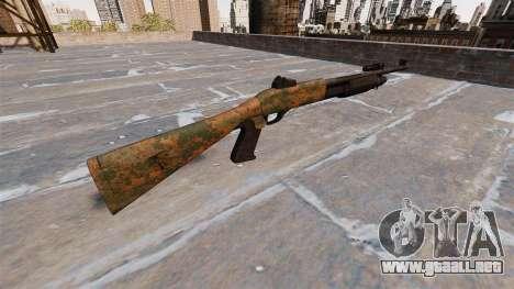Ружье Benelli M3 Super 90 de la selva para GTA 4 segundos de pantalla