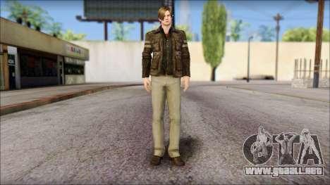 Leon Kennedy from Resident Evil 6 v1 para GTA San Andreas