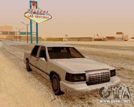 Tramo Sedán para GTA San Andreas