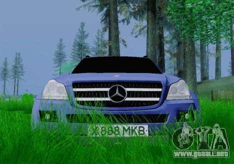 Mercedes-Benz GL500 para la visión correcta GTA San Andreas
