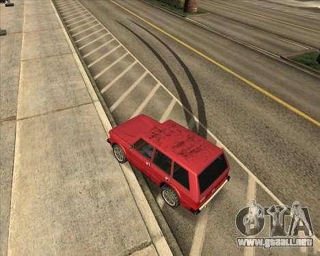 Freno para GTA San Andreas segunda pantalla