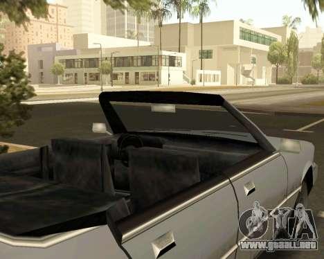 Centinela Convertible para la visión correcta GTA San Andreas