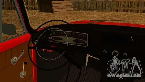 Moskvich U para la visión correcta GTA San Andreas