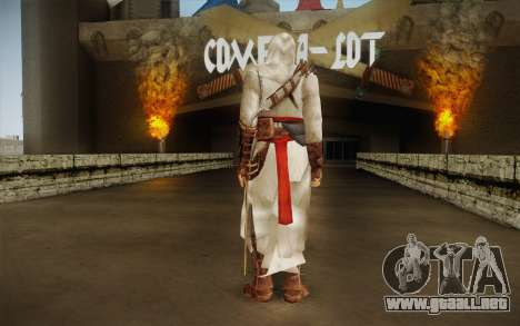 Altair from Assassins Creed para GTA San Andreas segunda pantalla