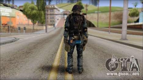 Tactical GIGN from Soldier Front 2 para GTA San Andreas segunda pantalla