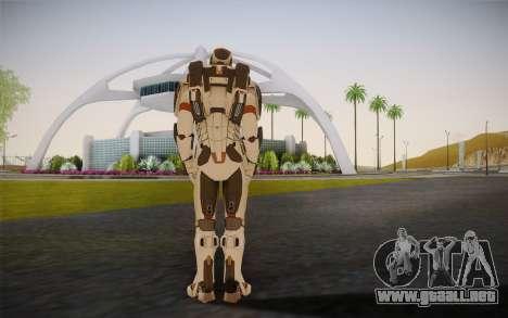 Iron Man Gemini Armor para GTA San Andreas segunda pantalla