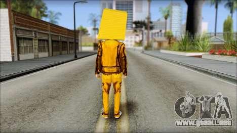 Robot Head LMFAO para GTA San Andreas segunda pantalla