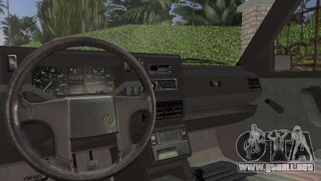 Volkswagen Golf II 1991 para GTA Vice City vista posterior