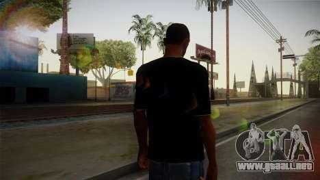 Melbourne Shuffle T-Shirt para GTA San Andreas segunda pantalla