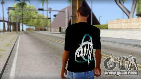 Dub Fx Fan T-Shirt v2 para GTA San Andreas segunda pantalla