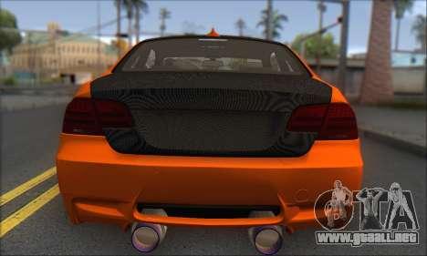 BMW M3 E92 Soft Tuning para la visión correcta GTA San Andreas