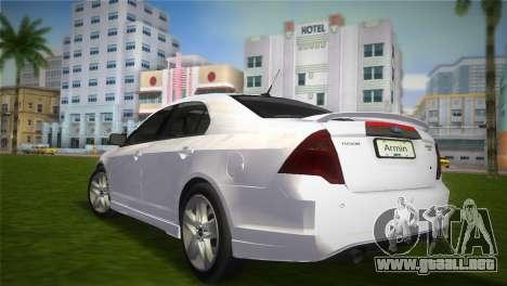 Ford Fusion 2009 para GTA Vice City left