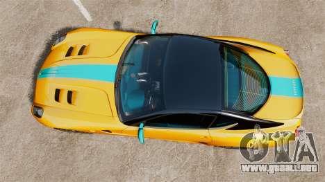 Ferrari 599 GTO PJ2 para GTA 4 visión correcta
