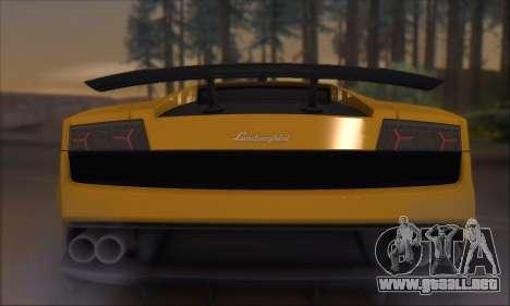 Lamborghini Gallardo LP570 Superleggera para el motor de GTA San Andreas