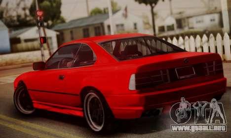 BMW M8 Custom para GTA San Andreas left